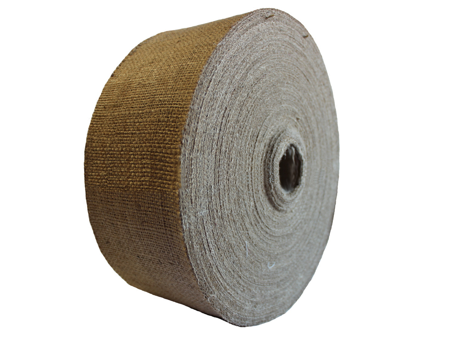 "2"" Inch Burlap Ribbon Wholesale - 100 Yards"