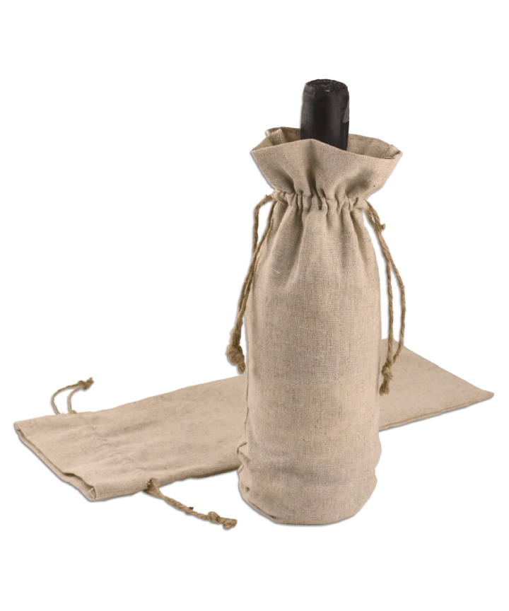 Linen Wine Bags - 6 x 14 (12 Pack)