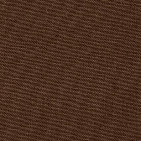 "Potting Soil Brown Duck Cloth 60"" By The Yard"