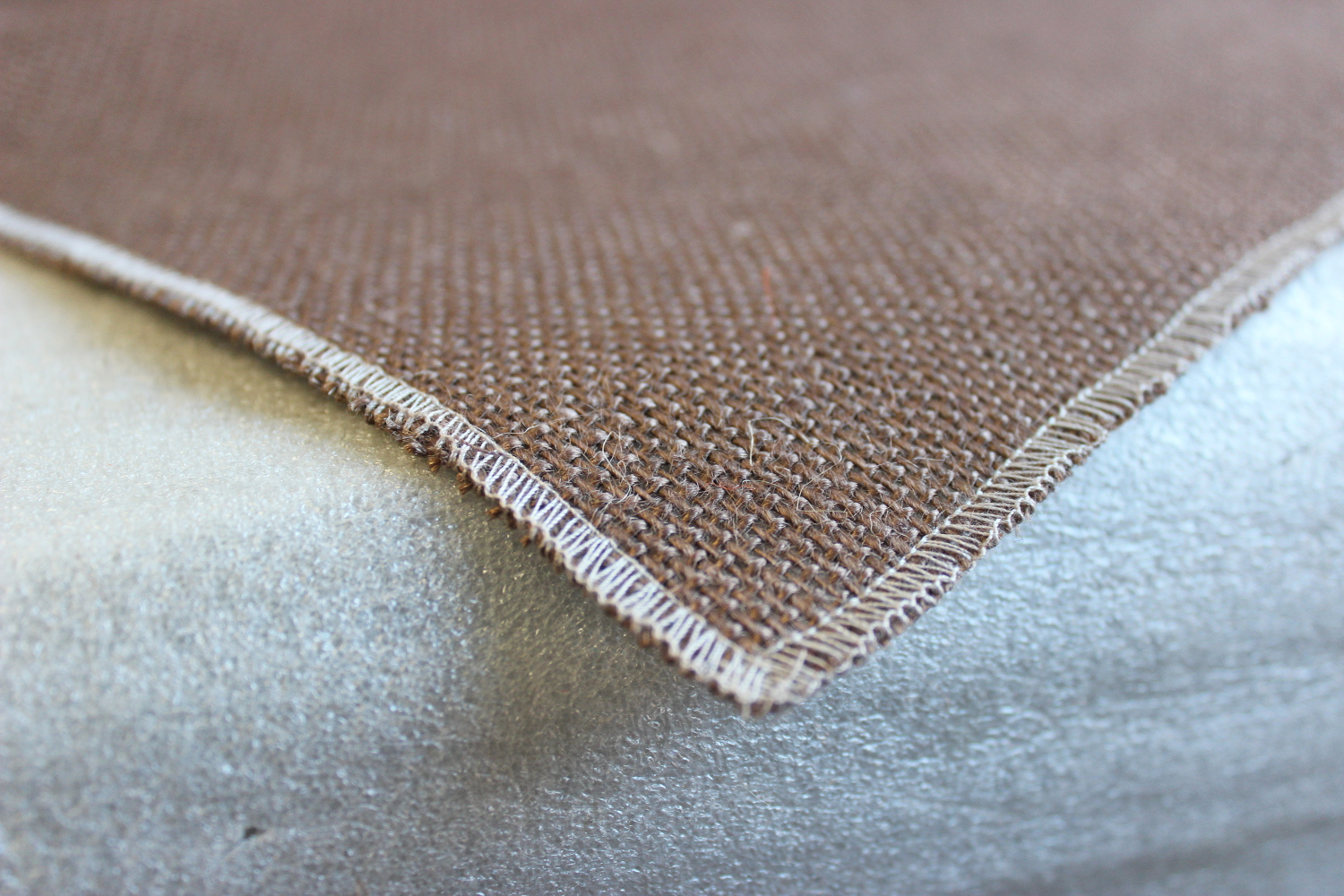 Colored Napkins - Brown with Florida Sand Edge