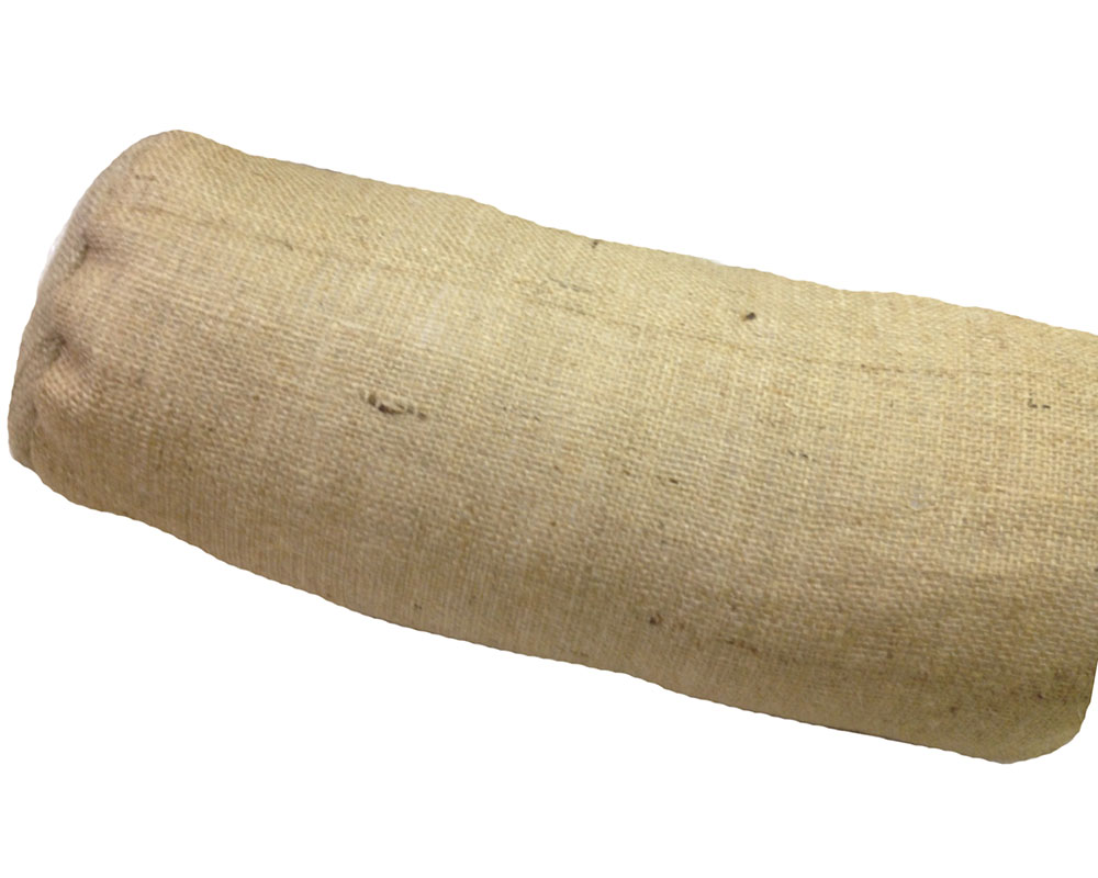 "Burlap Neck Roll - 7"" x 17"""