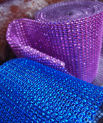 Diamond Mesh Ribbon