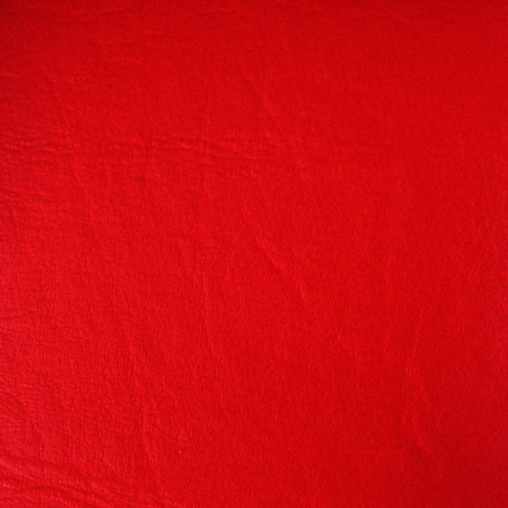 "54"" Red Leather-like Upholstery Vinyl - Per Yard"