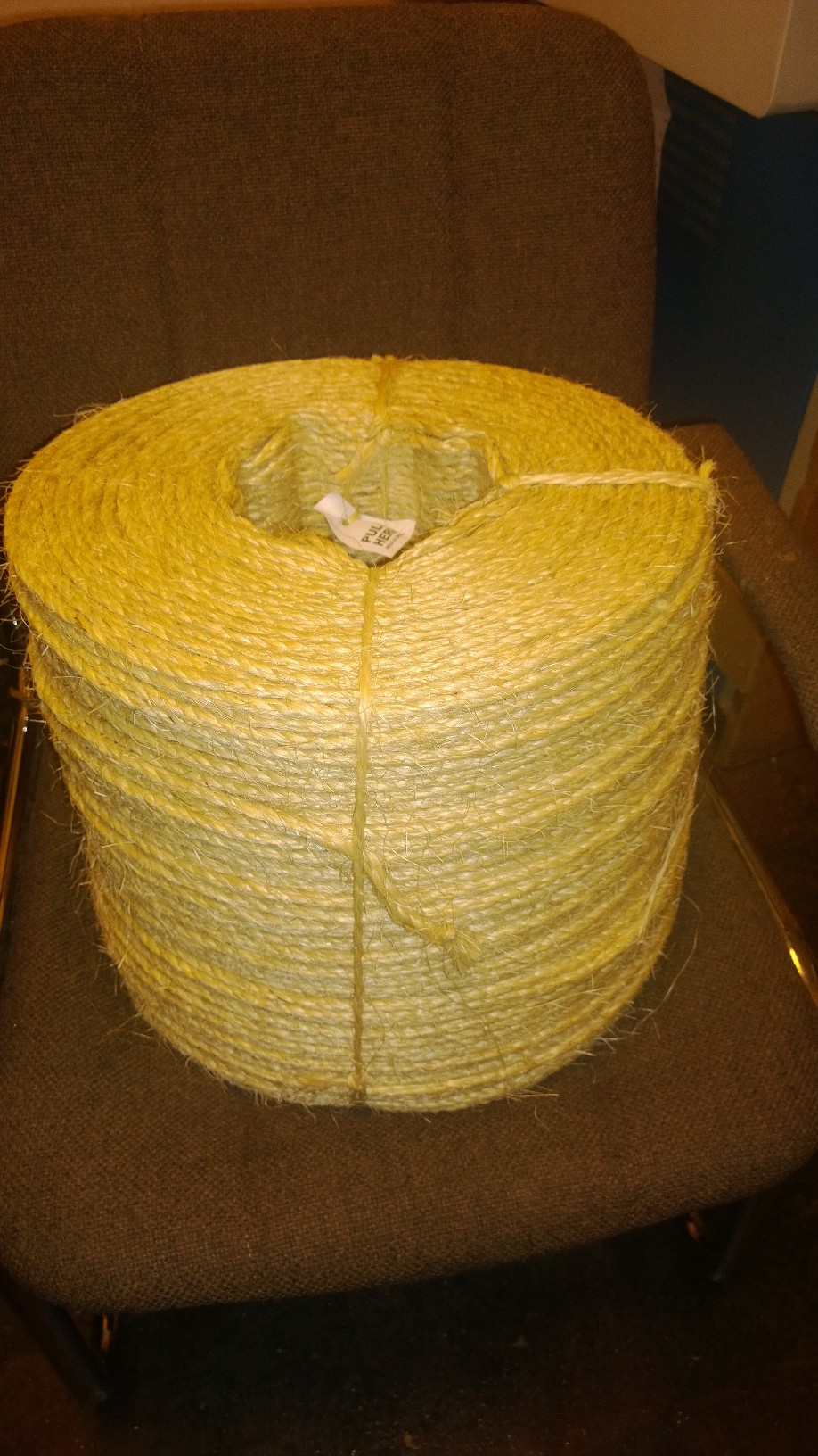 "1/4"" Natural Sisal Rope - 2500 ft"